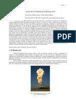 Simulação do controle de poços de gás