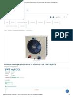 Pompa di calore per piscina fino a 15 m³ SHP 2.5 kW - BWT myPOOL _ BSVillage.com