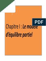 le model d_equilibre partiel