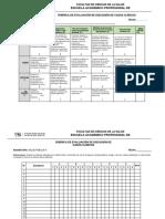 Rúbrica de Discusión de Casos Clínicos Salud Pública II