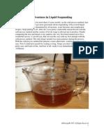 Mybathco Liquid Soapmaking Instructions