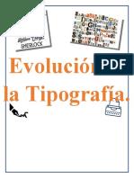 Evolucion de La Tipografia