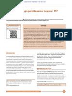 penyebab pansitopenia