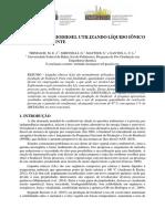 Produção de Biodiesel Utilizando Líquido Iônico Como Cosolvente