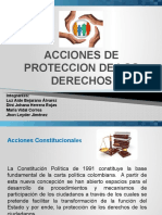 ACCIONES DE PROTECCION DE DERECHOS