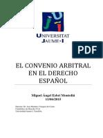 Derecho Arbitral Español