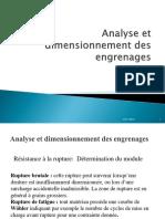 Calcul Dynamique Des Engrenages 2 CPI
