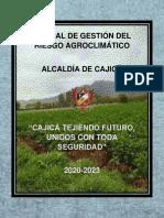 Manual de Gestión del Riesgo Agroclimático 2020