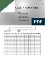 Formatos y Reporte