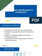 TEMA 1 - ¿Por qué planificamos la enseñanza_