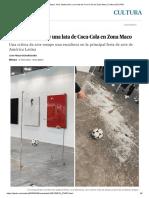 Avelina Lésper_ Arte, Destrucción y Una Lata de Coca-Cola en Zona Maco