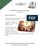 DOMINGO - ASCENSION DEL SEÑOR - 15-05-2021