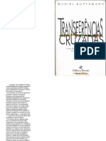 Livro Transferencias Cruzadas Daniel Kupermann Ed. 1996