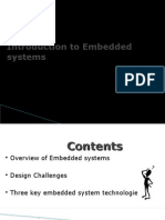 Overview of Embedded systems