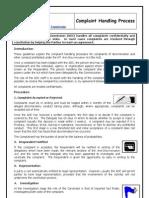 ComplaintsProcedure