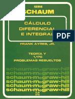 Calculo Diferencial e Integral - Frank Ayres, Jr