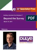 Beyond the Survey Webinar