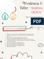 Evidencia 3 Analisis Dofa
