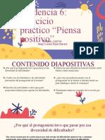 Evidencia 6 Ejercicio Práctico Piensa Positivo
