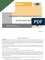 programa de orientacion educativa