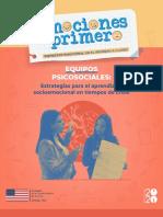 Estrategias Para El Aprendizaje Socioemocional - Equipos Psicosociales Ccesa007
