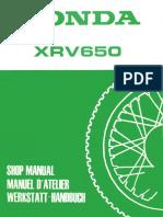 manual-xrv650_ 1988_1989