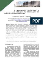 artigo - avaliação dos tratamentos convencional e avançado na degradaçãpo de corantes texteis