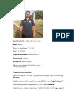 Currículum Kike Martínez