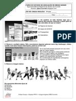 Avaliacao diagnostica - 6ano