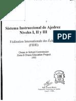 Sistema instruccional - MANUAL-FIDE Niveles I II y III, 1993-OCR, 245p