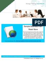 BizPlanIt Sample Business Plan - Retail