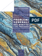 1. Opere Giuridiche – Volume I – Problemi Generali Del Diritto e Del Processo