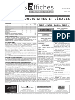 Petites Affiches - Annonces Légales - 2015-03-12