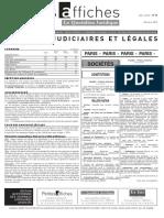 Petites Affiches - Annonces Légales - 2015-03-20