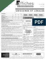 Petites Affiches - Annonces Légales - 2015-03-24