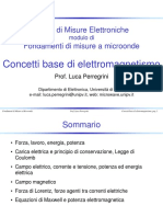 02 FMM Concetti Base Elettromagnetismo