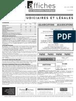 Petites Affiches - Annonces Légales - 2015-04-17