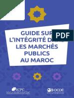 Guide Integrite Dans Marches Publics Maroc