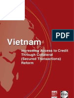 Vietnam: Increasing Access to Credit Through Collateral (Secured Transactions) Reform