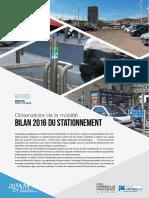 Bilan 2016 Du Stationnement
