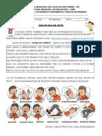 15ª SEMANA - ARTE-SONS-CORPO
