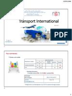 Cours Transport International _ Documentation _