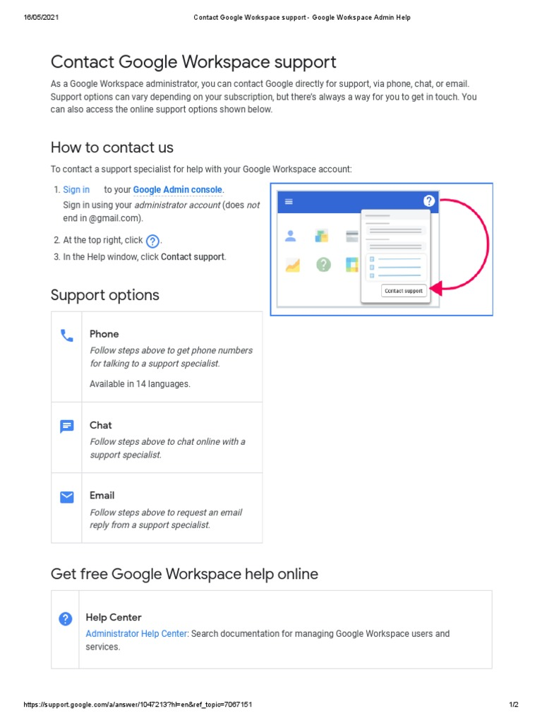 Google chat online with a support specialist
