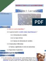2- INTRODUCTION A L'ALGORITHME