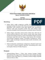 KPI P3 dan SPS 2009