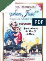 Programa Feria Patronal San José