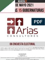 15 Gubernaturas Arias Consultores 06 Encuesta 13.05.2021
