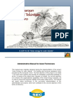 4.1.- Workshop Material - Administrative manual for island technicians (kiribati)