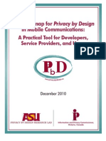 Privacy by Design for Mobile