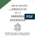 Nimrod de Rosario (Luis Felipe Moyano) - fundamentos Sabiduria Hiperborea vol.1